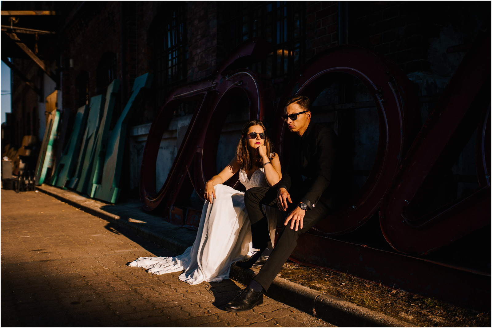 Karolina & Wojtek | sesja w Soho Factory 6