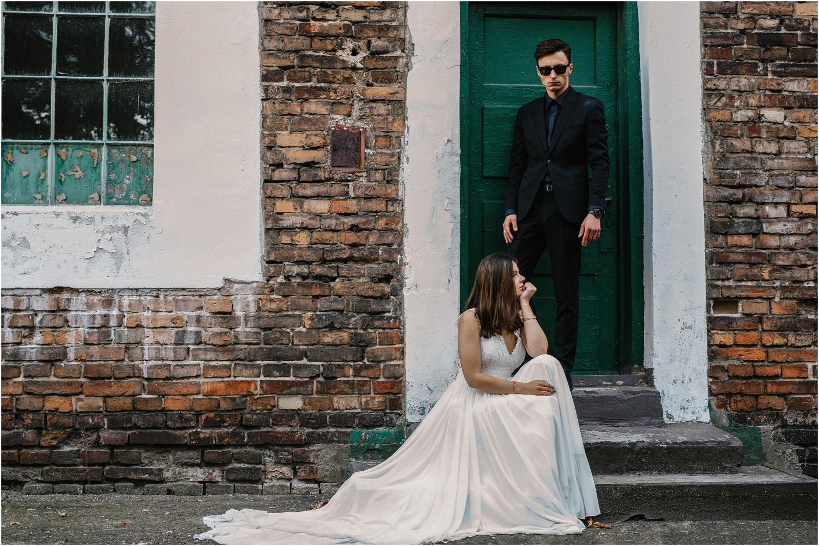 Karolina & Wojtek | sesja w Soho Factory 22
