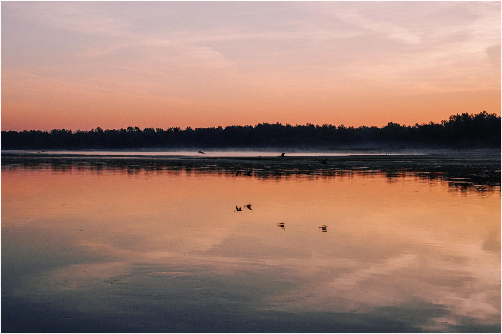 Ewa & Mateusz | wschód słońca nad Wisłą 1