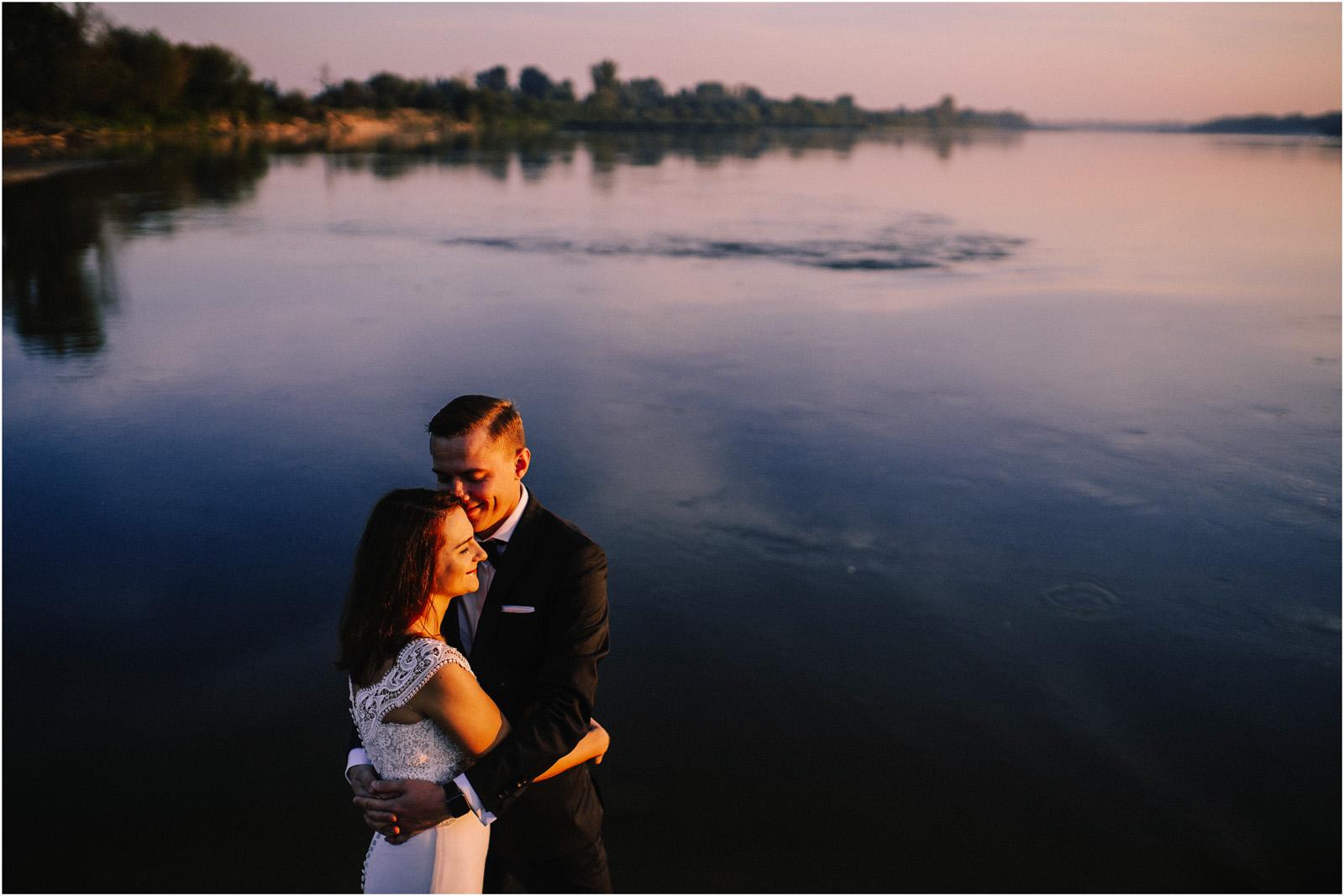 Ewa & Mateusz | wschód słońca nad Wisłą 7