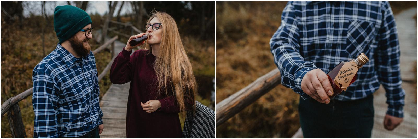 Gosia & Tomek | sesja w Bieszczadach 6