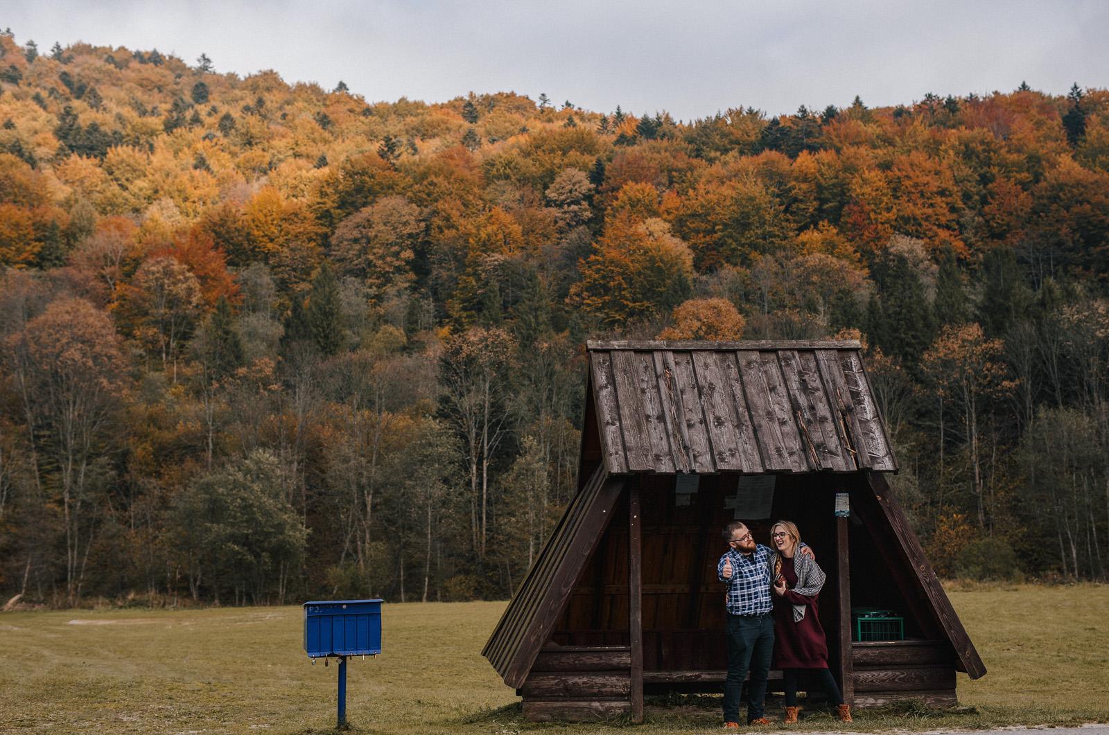Gosia & Tomek | sesja w Bieszczadach 16