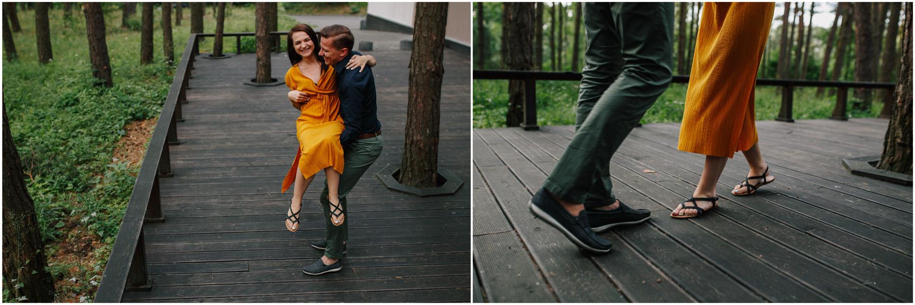 Ewa & Mateusz | leśny ślub w Uroczysku 8