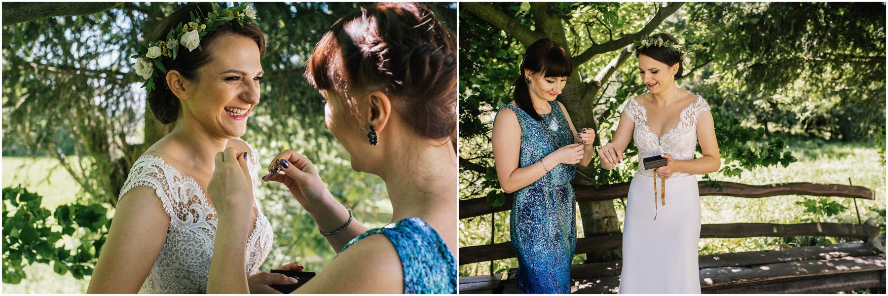 Ewa & Mateusz | leśny ślub w Uroczysku 32