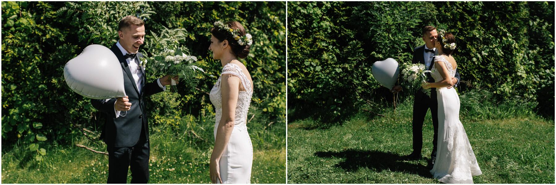 Ewa & Mateusz | leśny ślub w Uroczysku 35