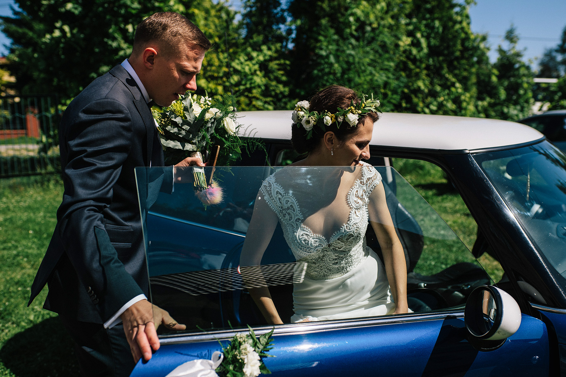 Ewa & Mateusz | leśny ślub w Uroczysku 38