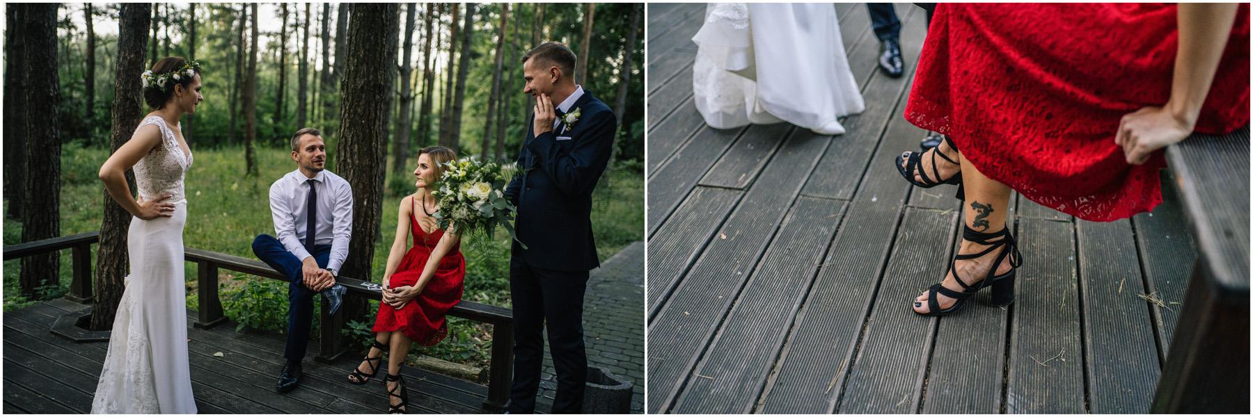 Ewa & Mateusz | leśny ślub w Uroczysku 68