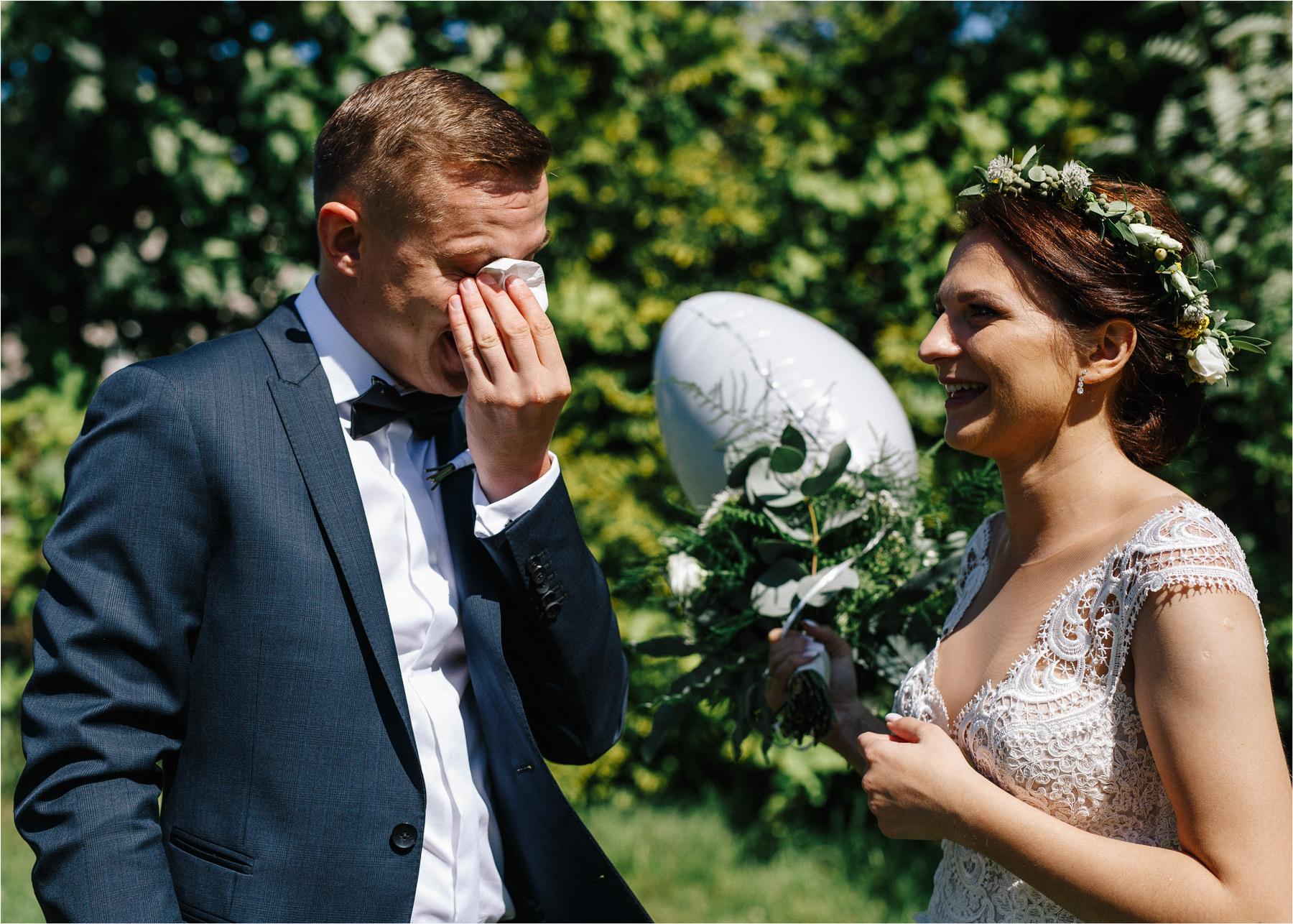 Ewa & Mateusz | leśny ślub w Uroczysku 36