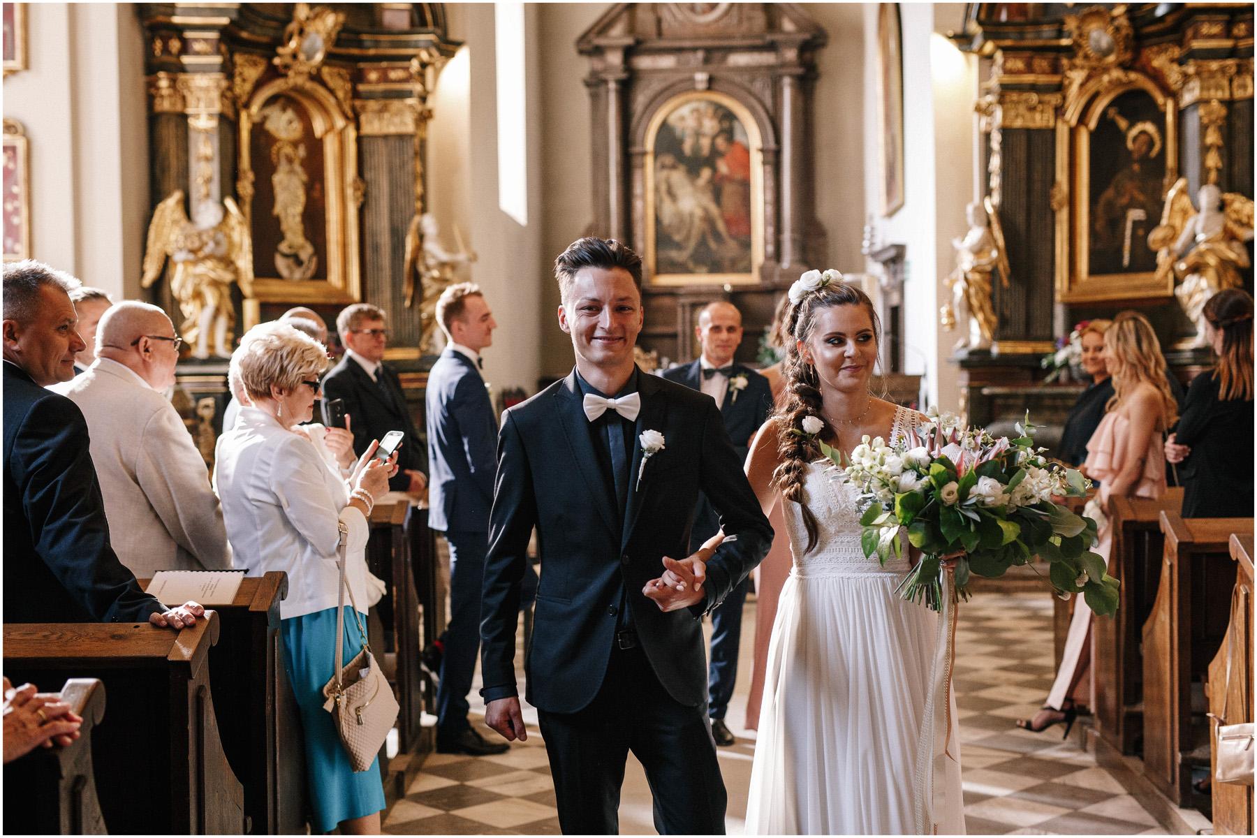 , Karolina & Wojtek | ślub miejski w Willi Hueta