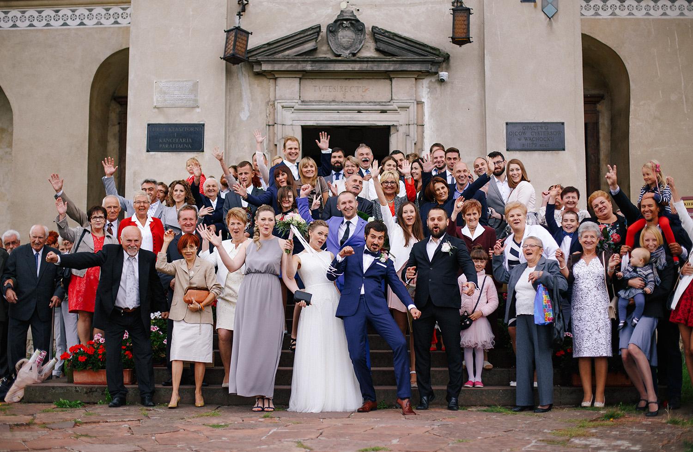 Kasia & Tomek | cystersi i slow wedding w Sabatówce 40