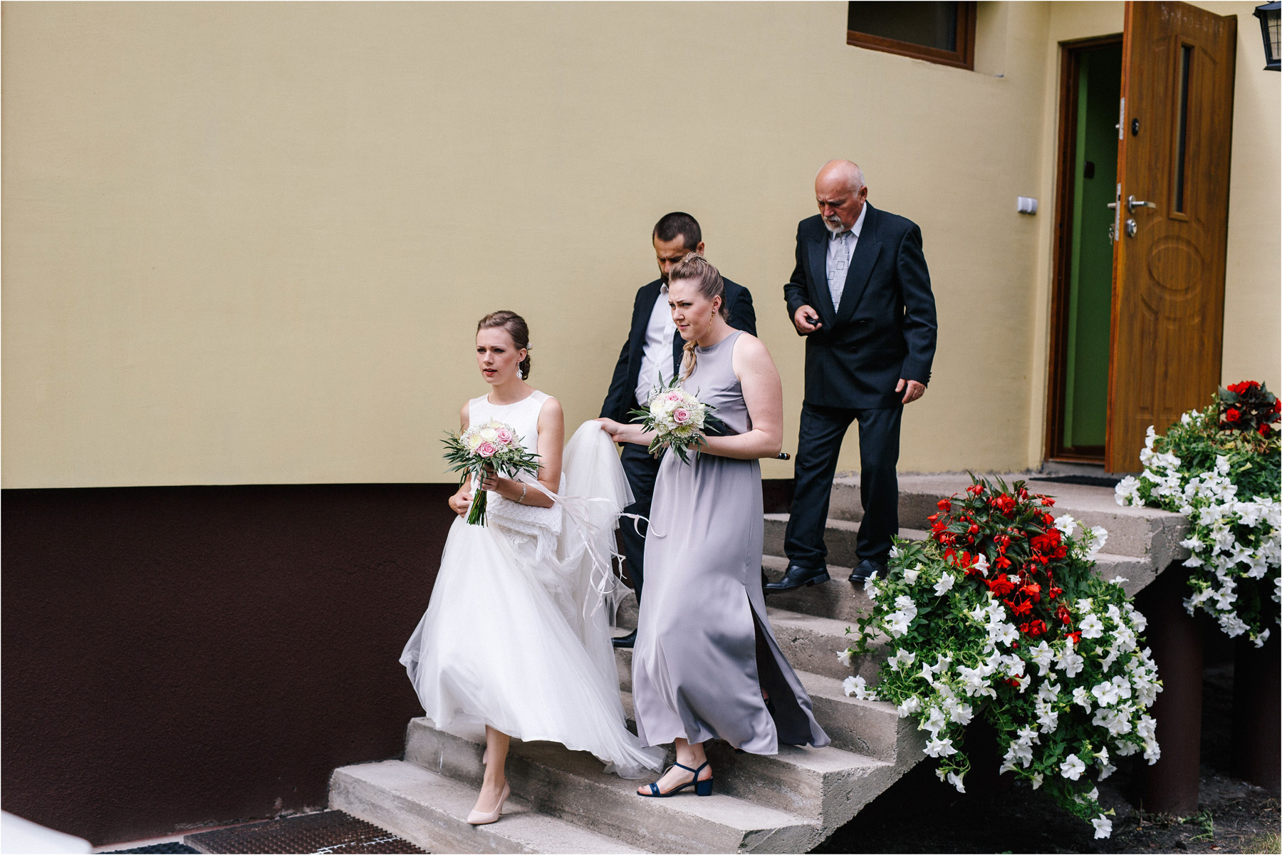 Kasia & Tomek | cystersi i slow wedding w Sabatówce 11