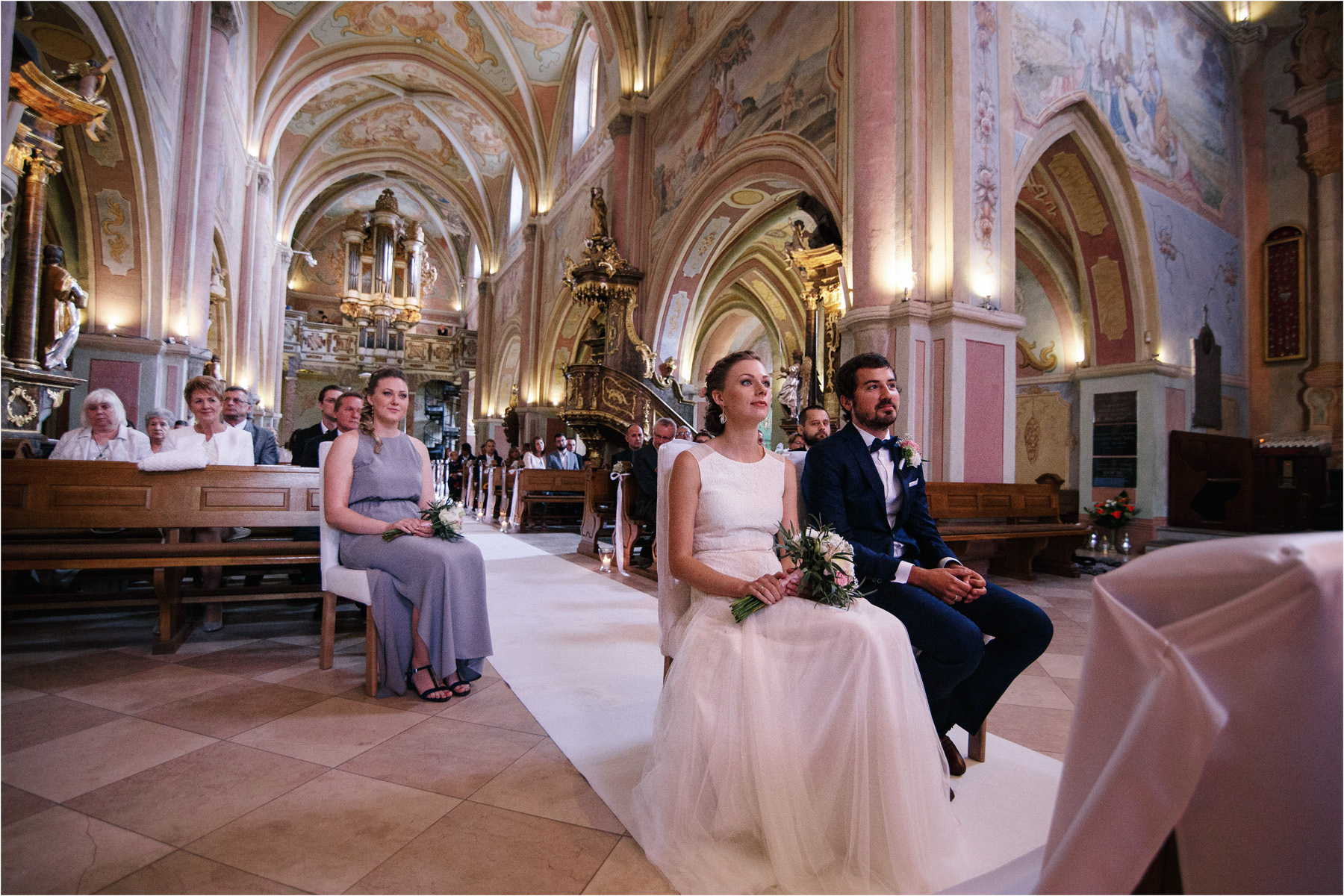 Kasia & Tomek | cystersi i slow wedding w Sabatówce 34