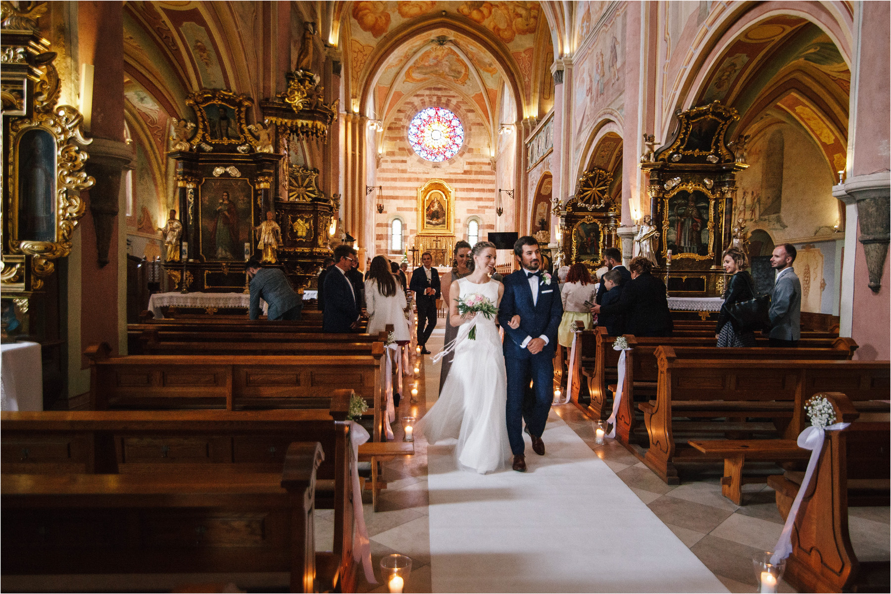 Kasia & Tomek | cystersi i slow wedding w Sabatówce 37