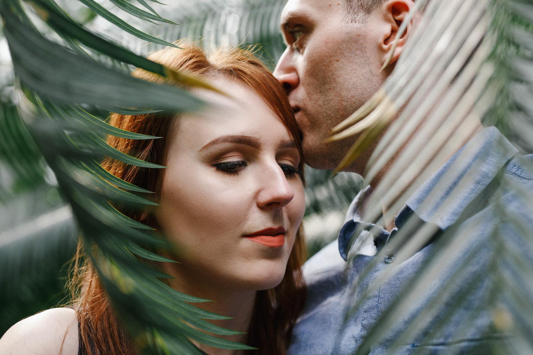 Monika & Damian | sesja w palmiarni 26