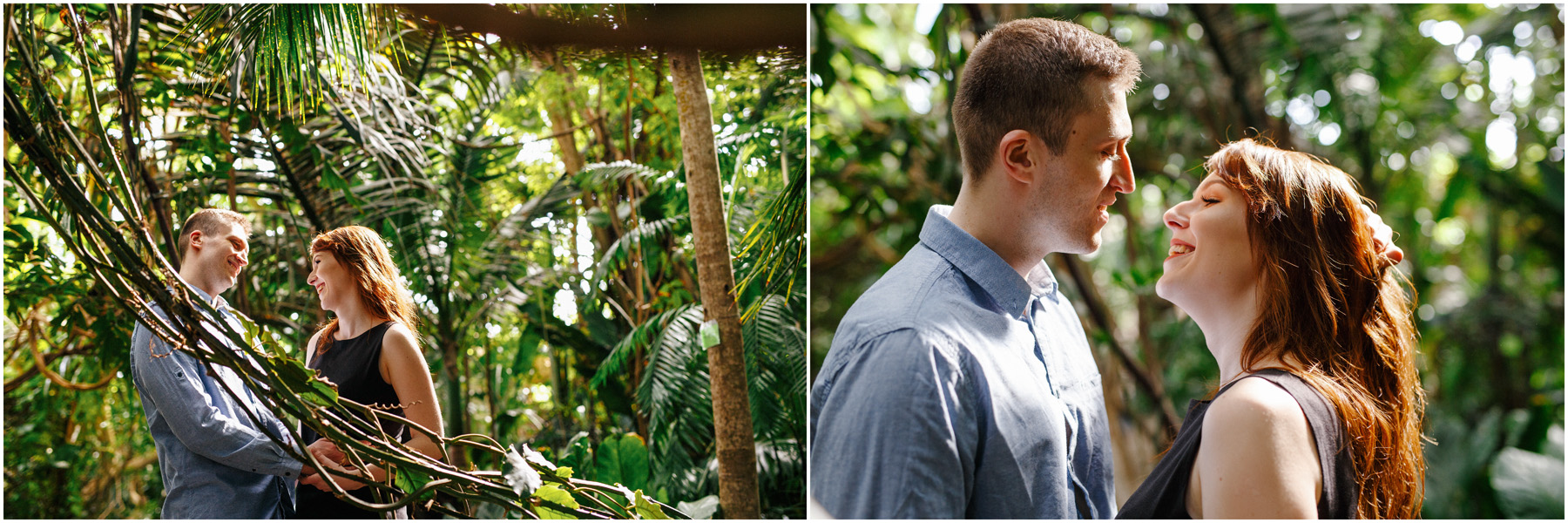 Monika & Damian | sesja w palmiarni 10