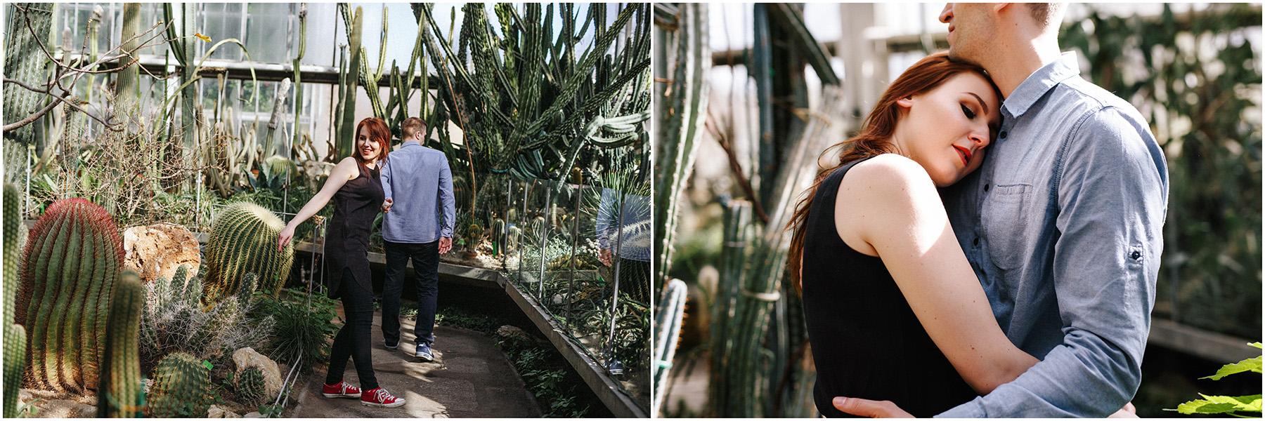 Monika & Damian | sesja w palmiarni 6
