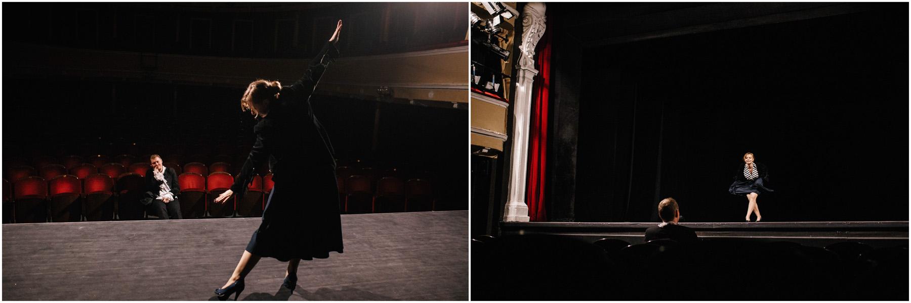 Patrycja & Artur | sesja w teatrze 16