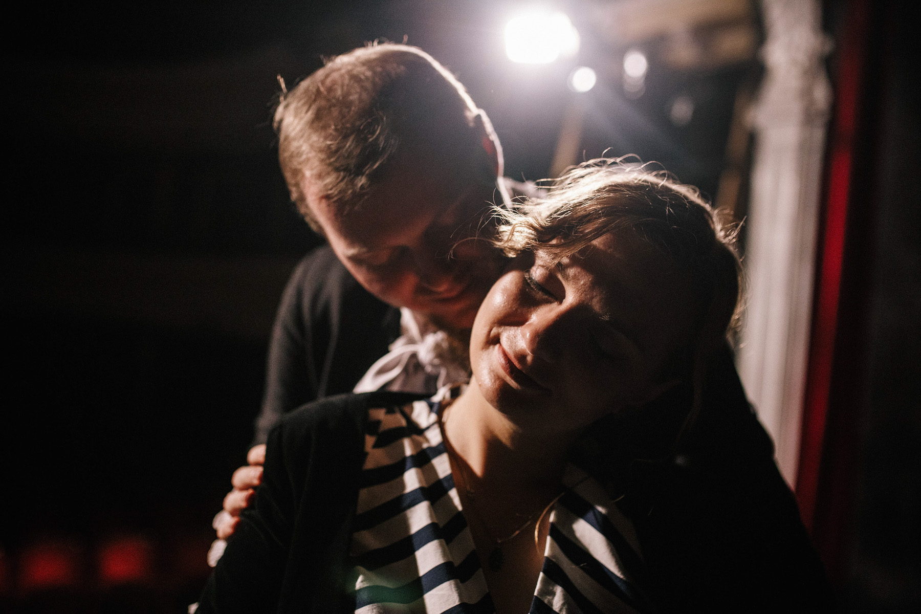 Patrycja & Artur | sesja w teatrze 15