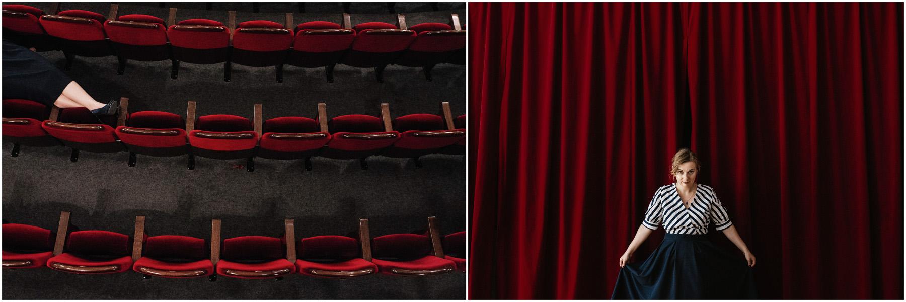 Patrycja & Artur | sesja w teatrze 5