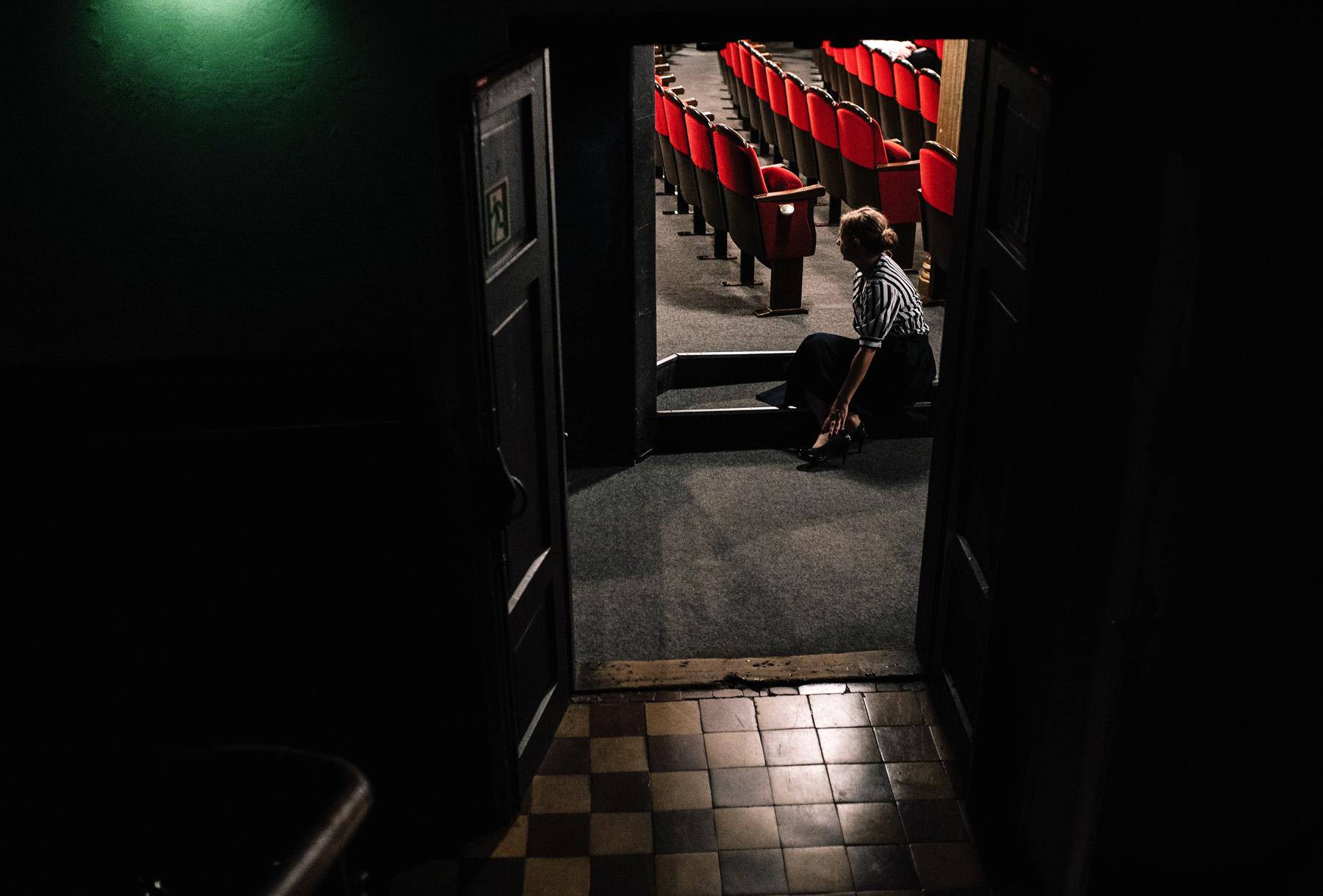 Patrycja & Artur | sesja w teatrze 9