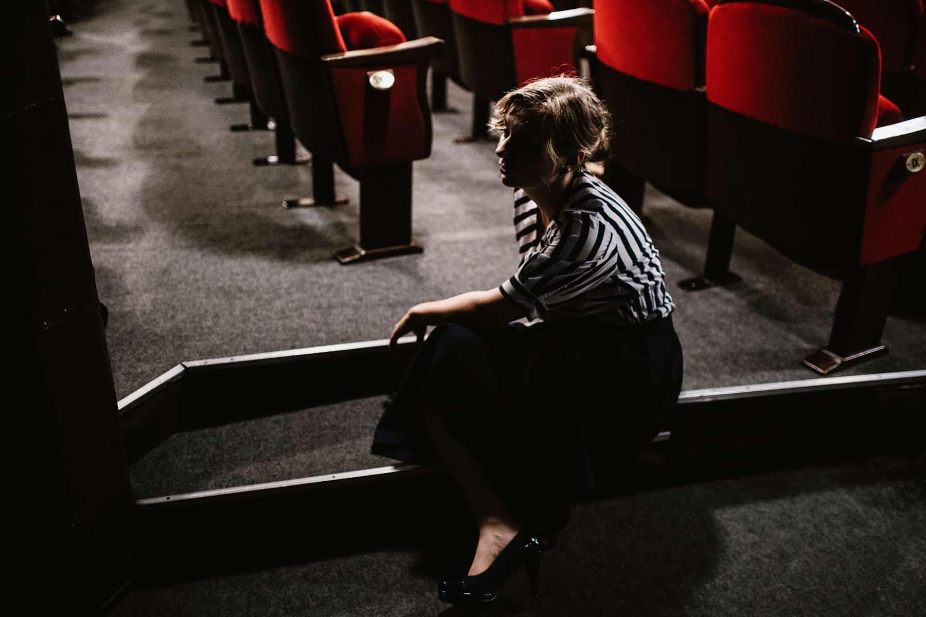 Patrycja & Artur | sesja w teatrze 10