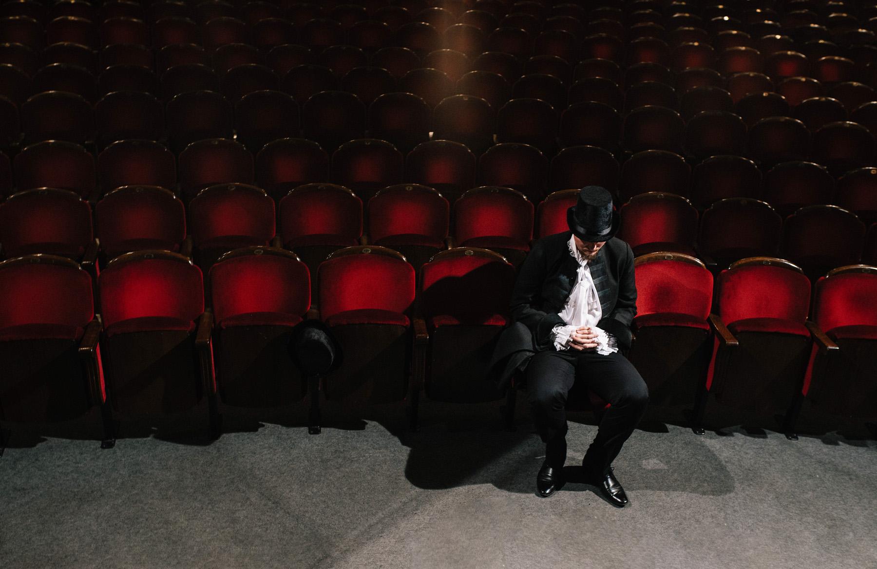 Patrycja & Artur | sesja w teatrze 19