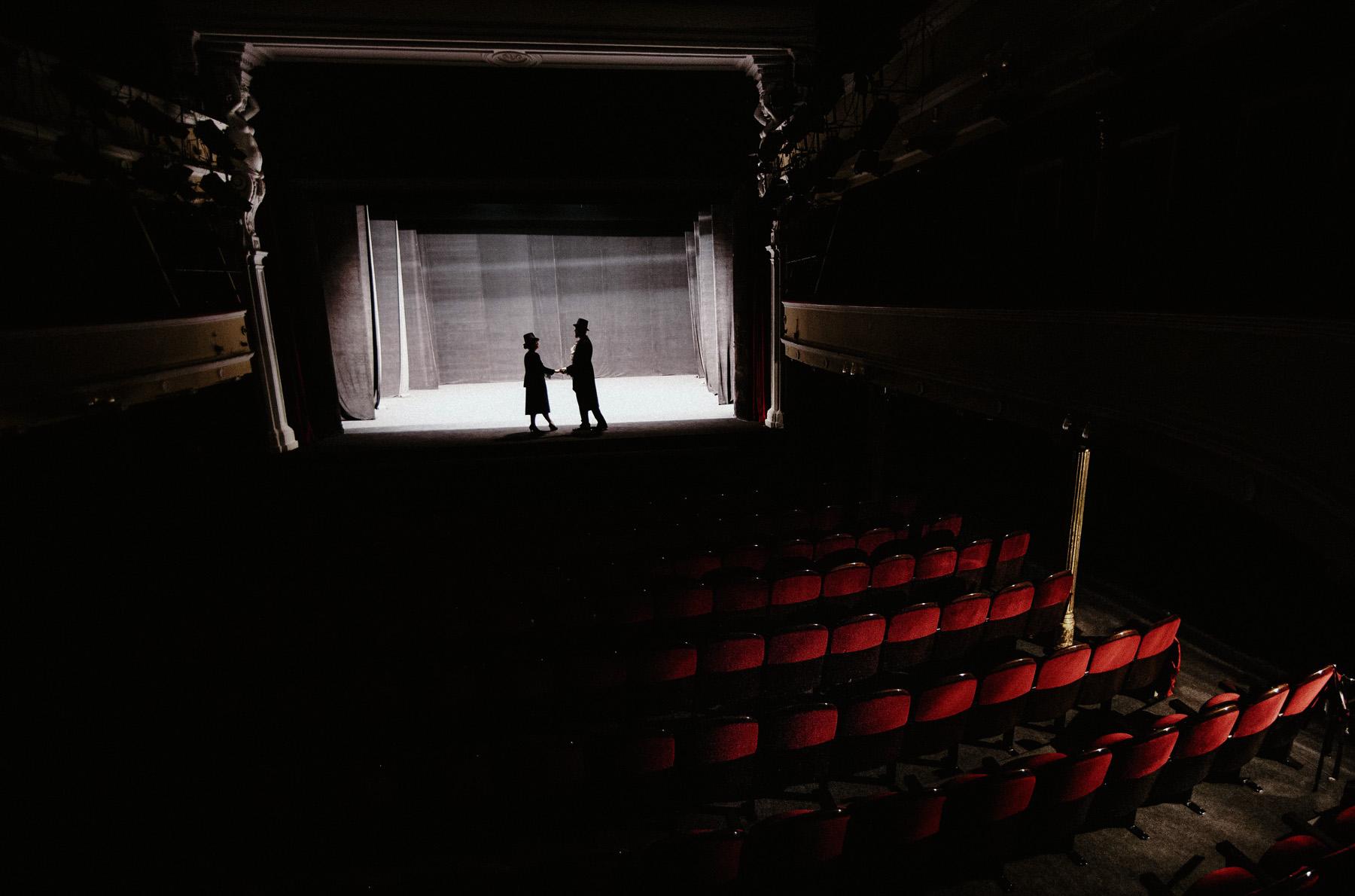 Patrycja & Artur | sesja w teatrze 20