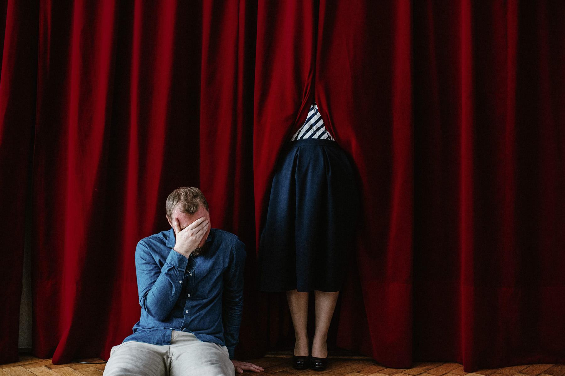 Patrycja & Artur | sesja w teatrze 4