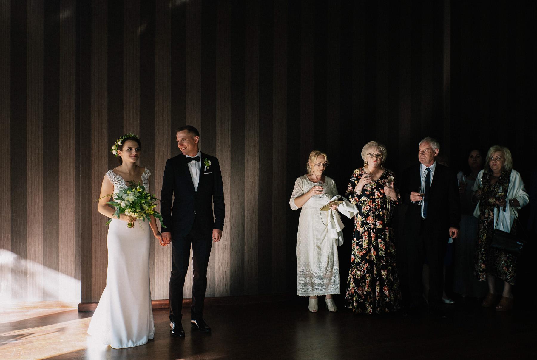 Ewa & Mateusz | leśny ślub w Uroczysku 65