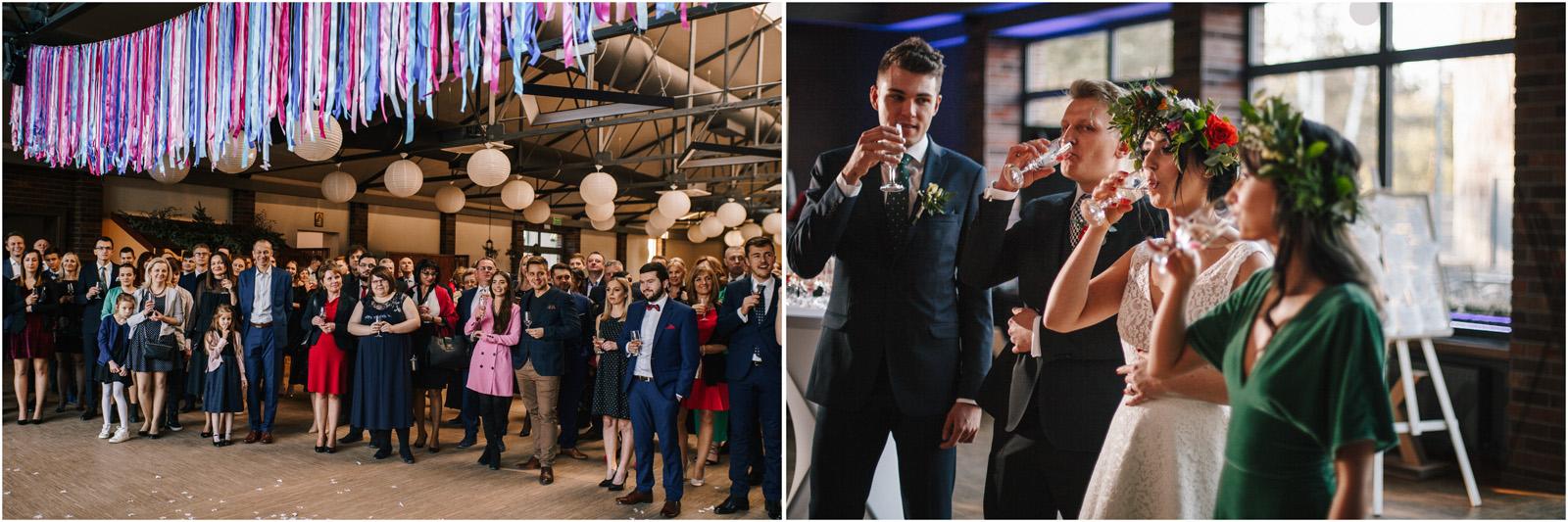 Asia & Krzysiek   rustykalny ślub w Gościńcu za Borem 43