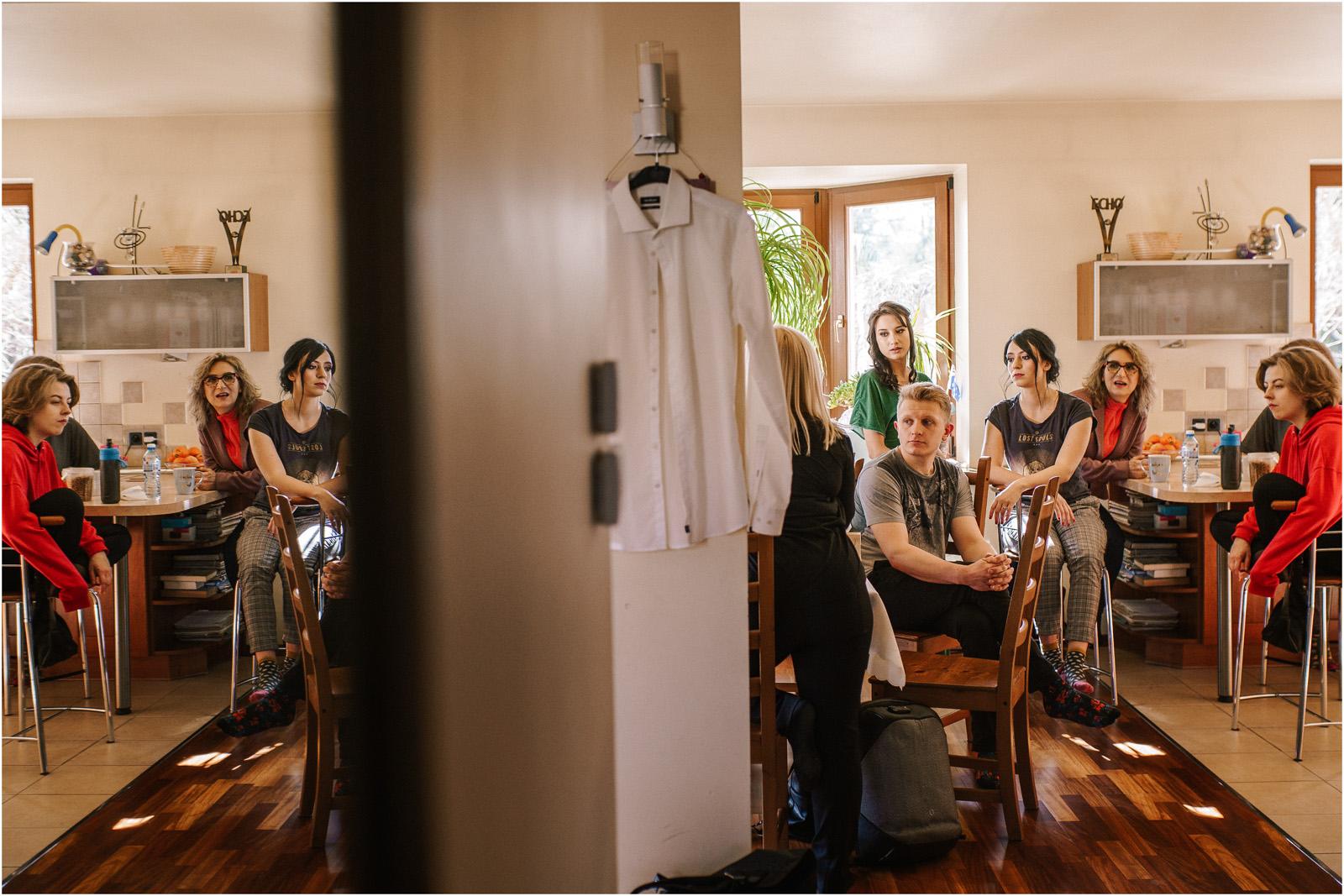 Asia & Krzysiek   rustykalny ślub w Gościńcu za Borem 2