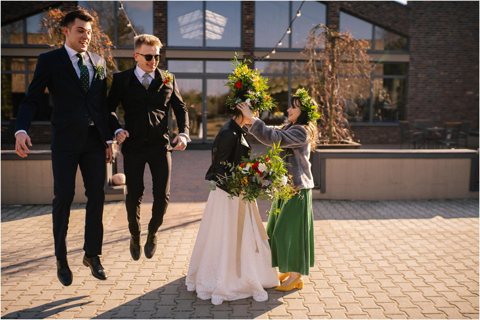 Asia & Krzysiek   rustykalny ślub w Gościńcu za Borem 19