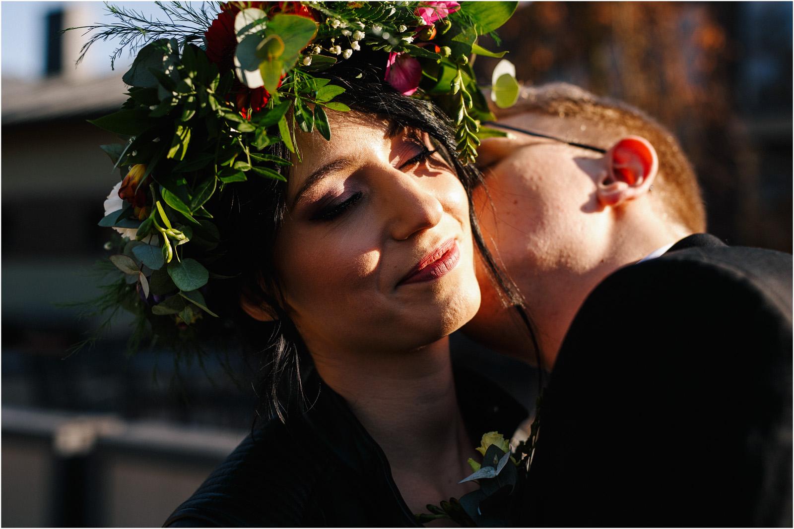 Asia & Krzysiek   rustykalny ślub w Gościńcu za Borem 22