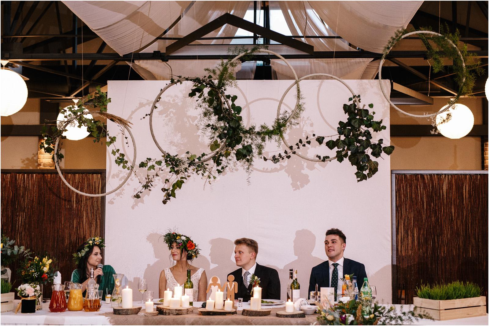 Asia & Krzysiek   rustykalny ślub w Gościńcu za Borem 50