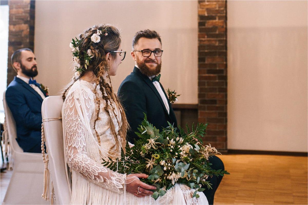 Gosia & Tomek | zimowy ślub w Gościńcu za Borem 21