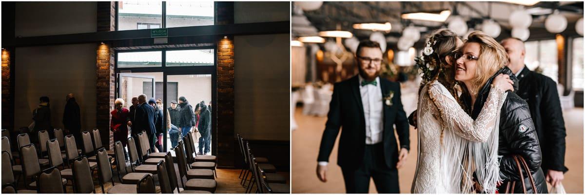 Gosia & Tomek   zimowy ślub w Gościńcu za Borem 16