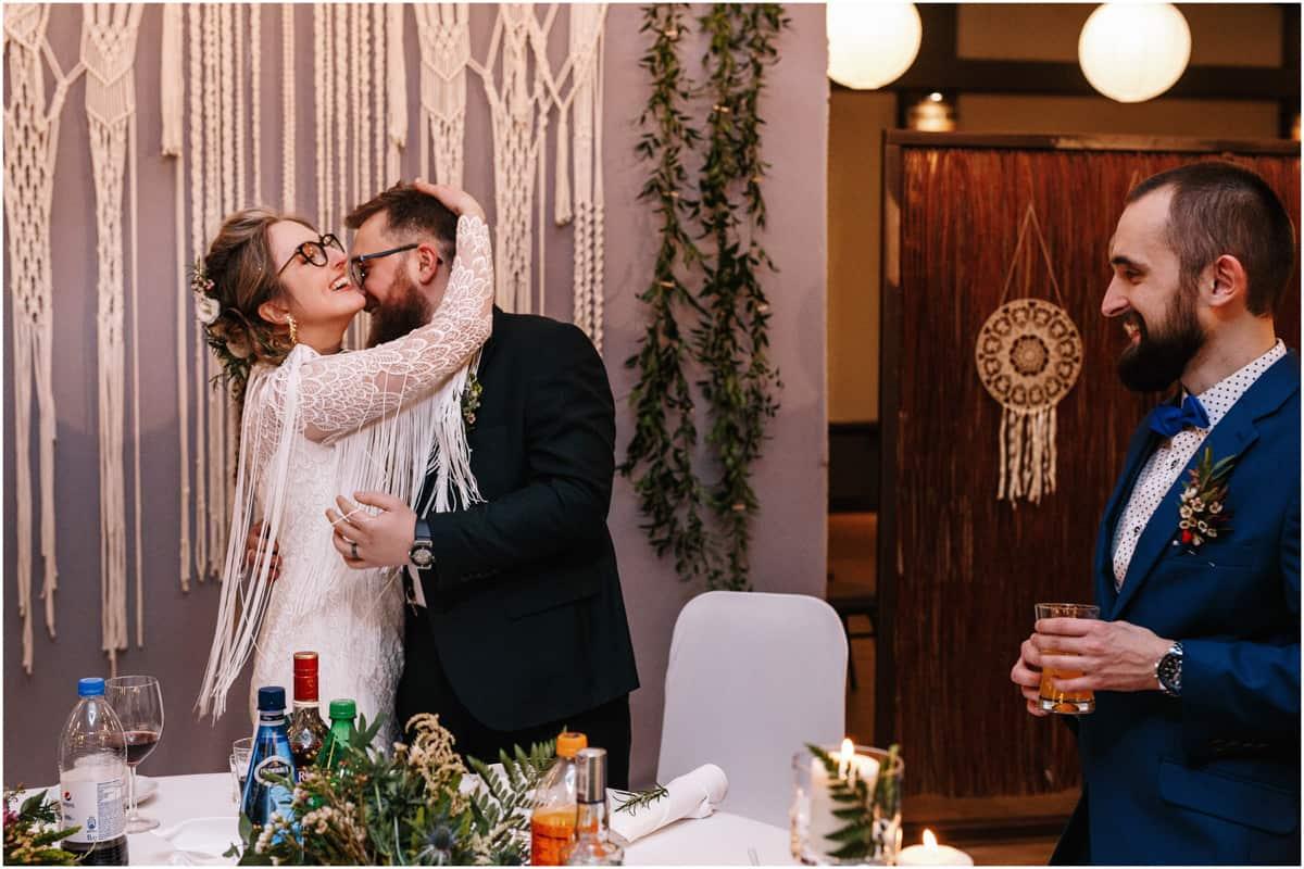 Gosia & Tomek | zimowy ślub w Gościńcu za Borem 52