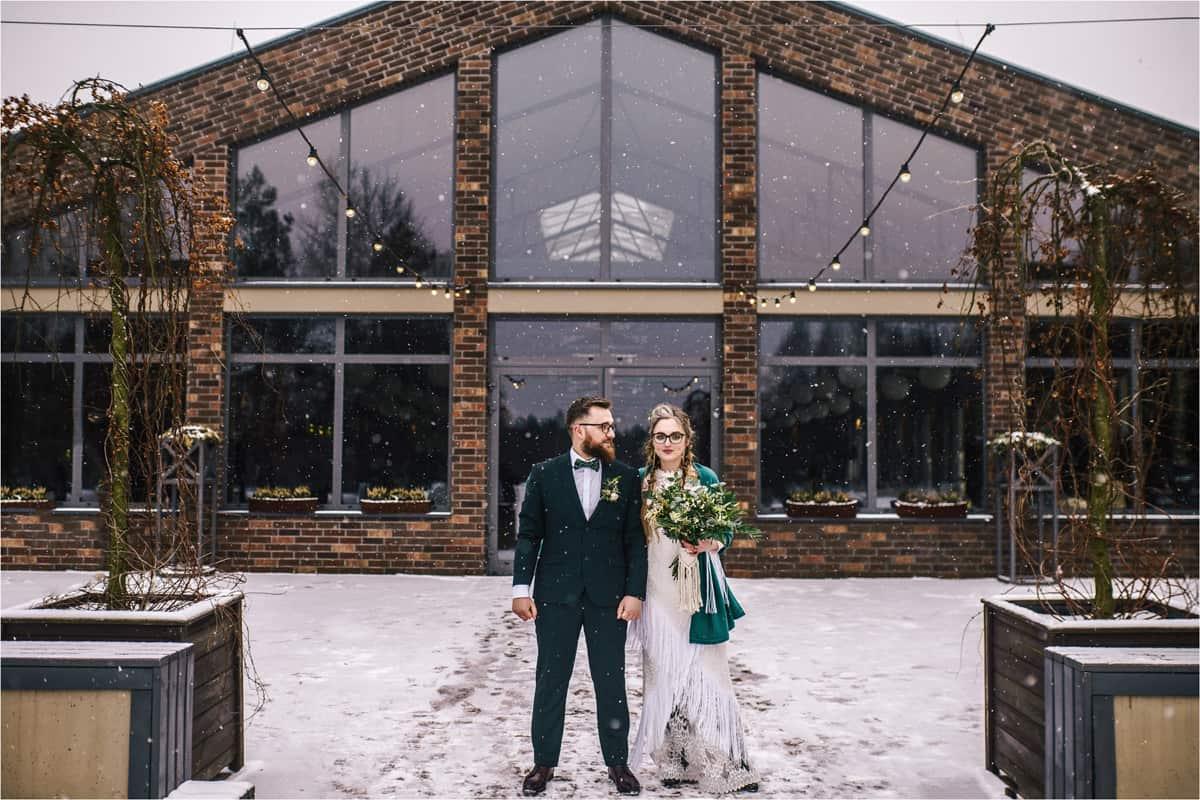 Gosia & Tomek   zimowy ślub w Gościńcu za Borem 11