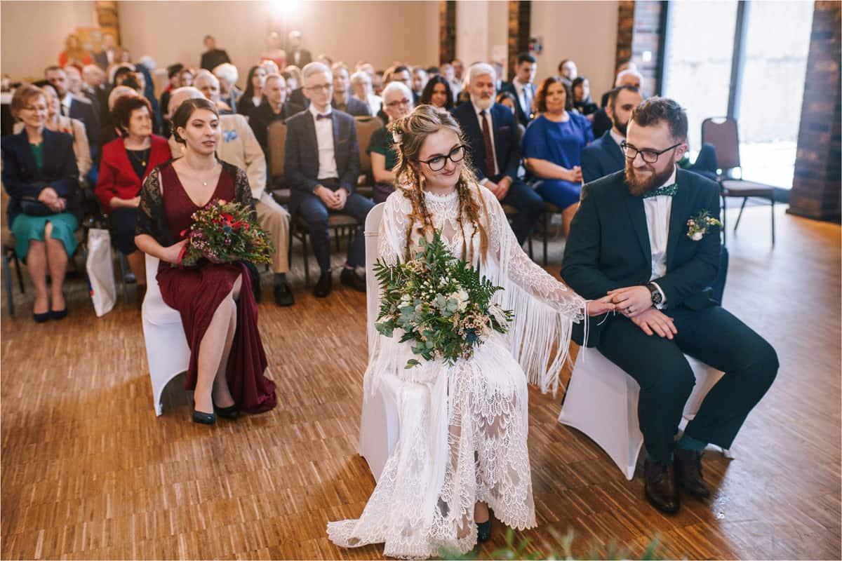 Gosia & Tomek   zimowy ślub w Gościńcu za Borem 20