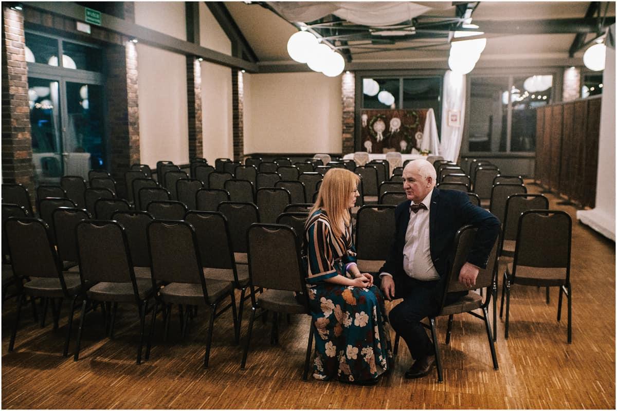 Gosia & Tomek   zimowy ślub w Gościńcu za Borem 55