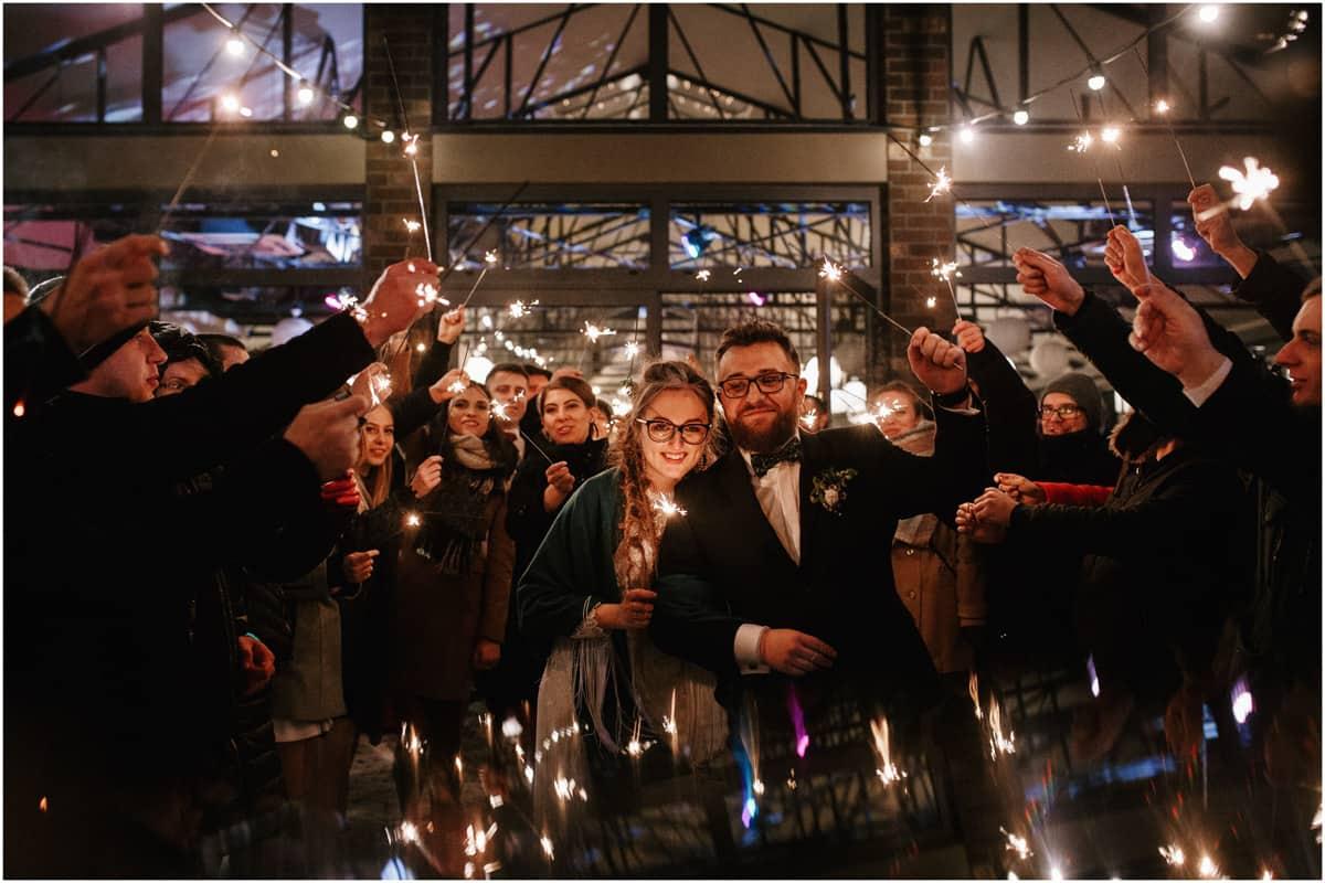 Gosia & Tomek   zimowy ślub w Gościńcu za Borem 36