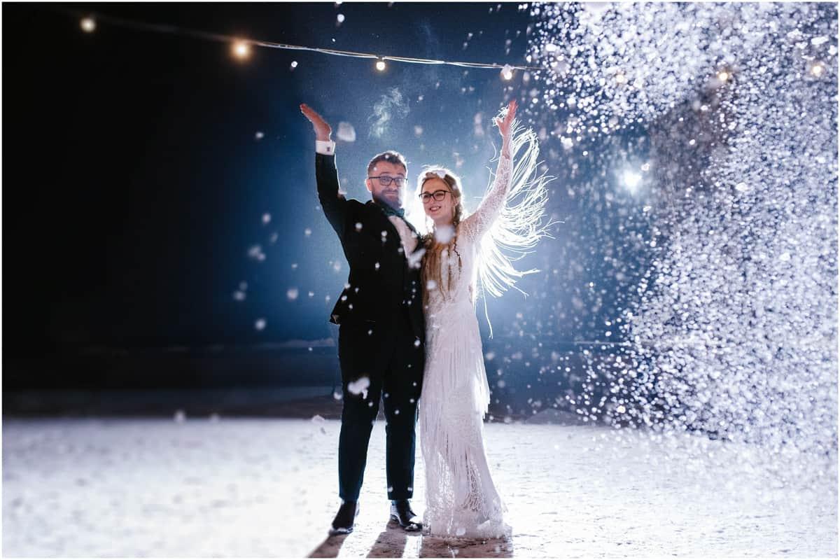 Gosia & Tomek   zimowy ślub w Gościńcu za Borem 32