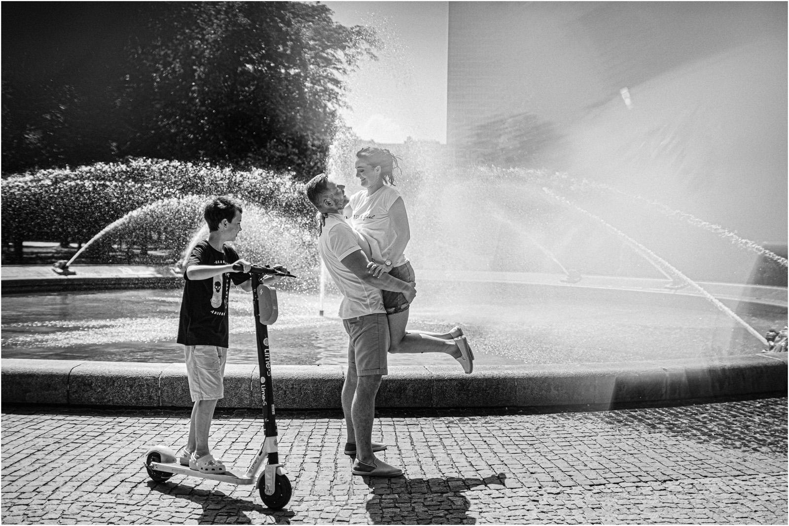 Justyna & Kamil |sesja miejska w Warszawie 13