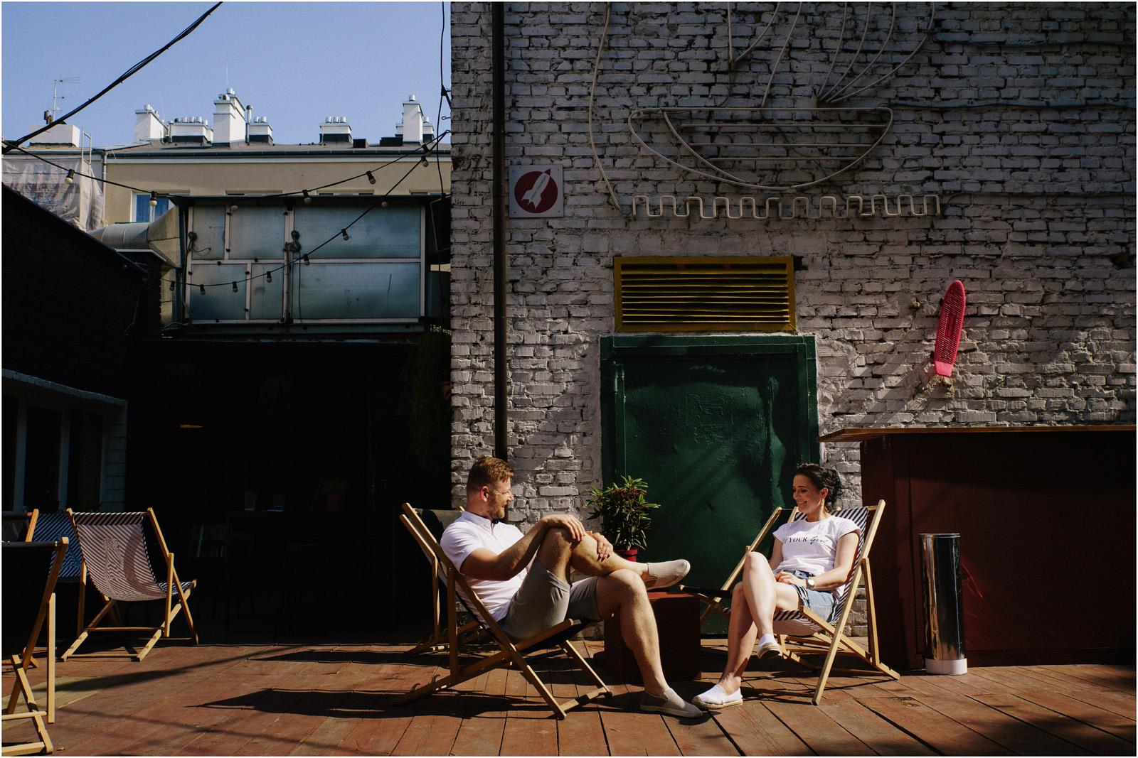Justyna & Kamil |sesja miejska w Warszawie 16