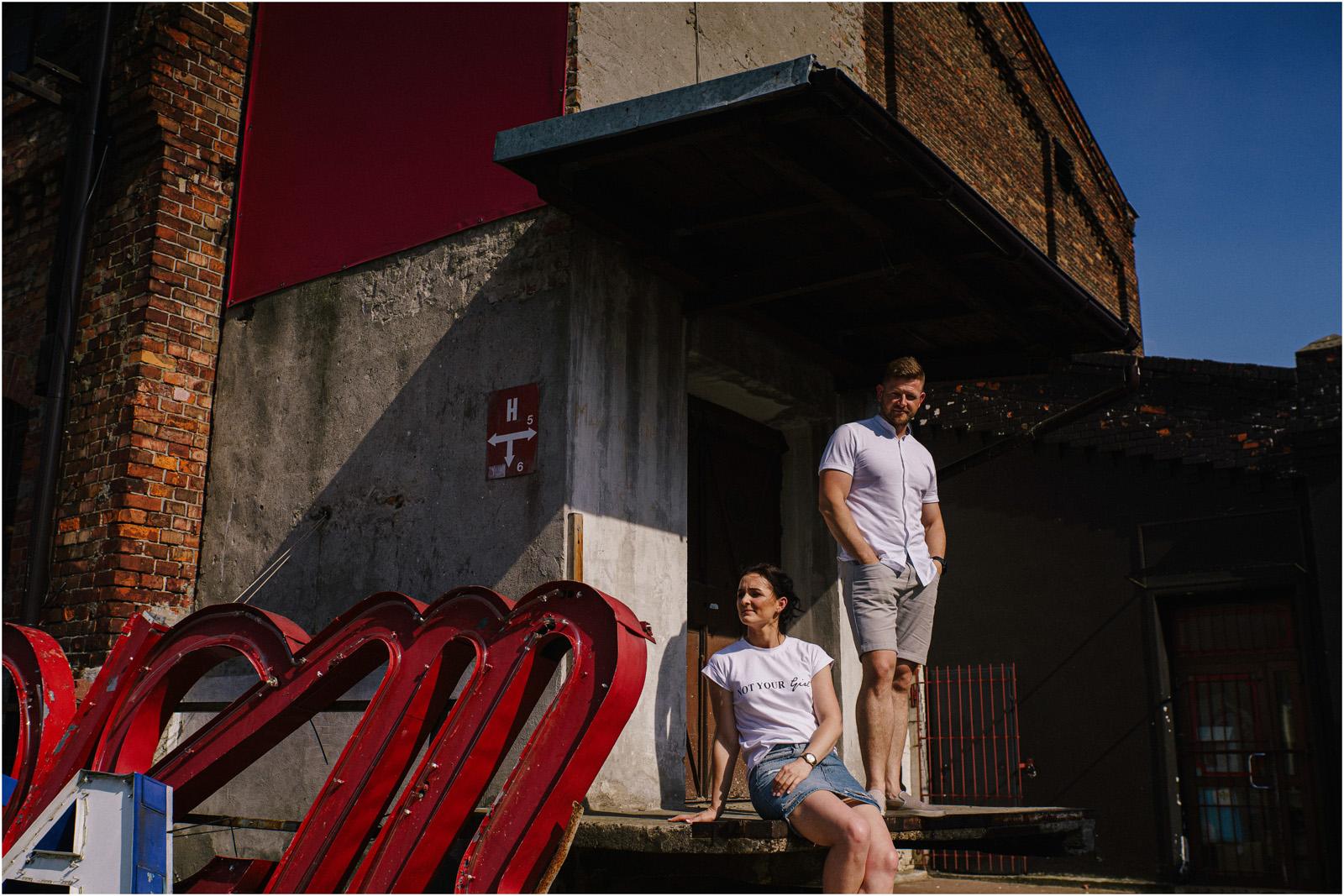 Justyna & Kamil |sesja miejska w Warszawie 18