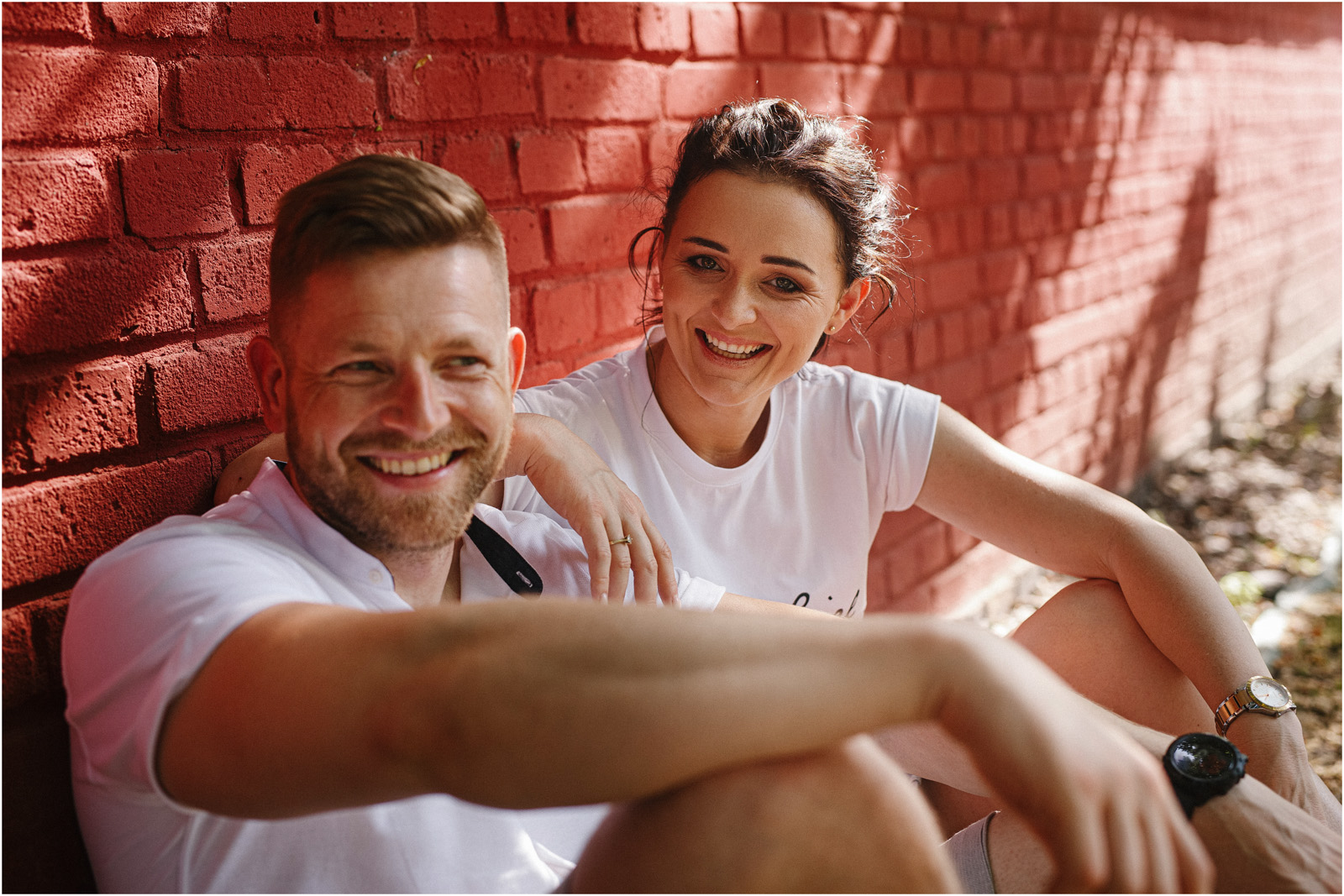 Justyna & Kamil |sesja miejska w Warszawie 24