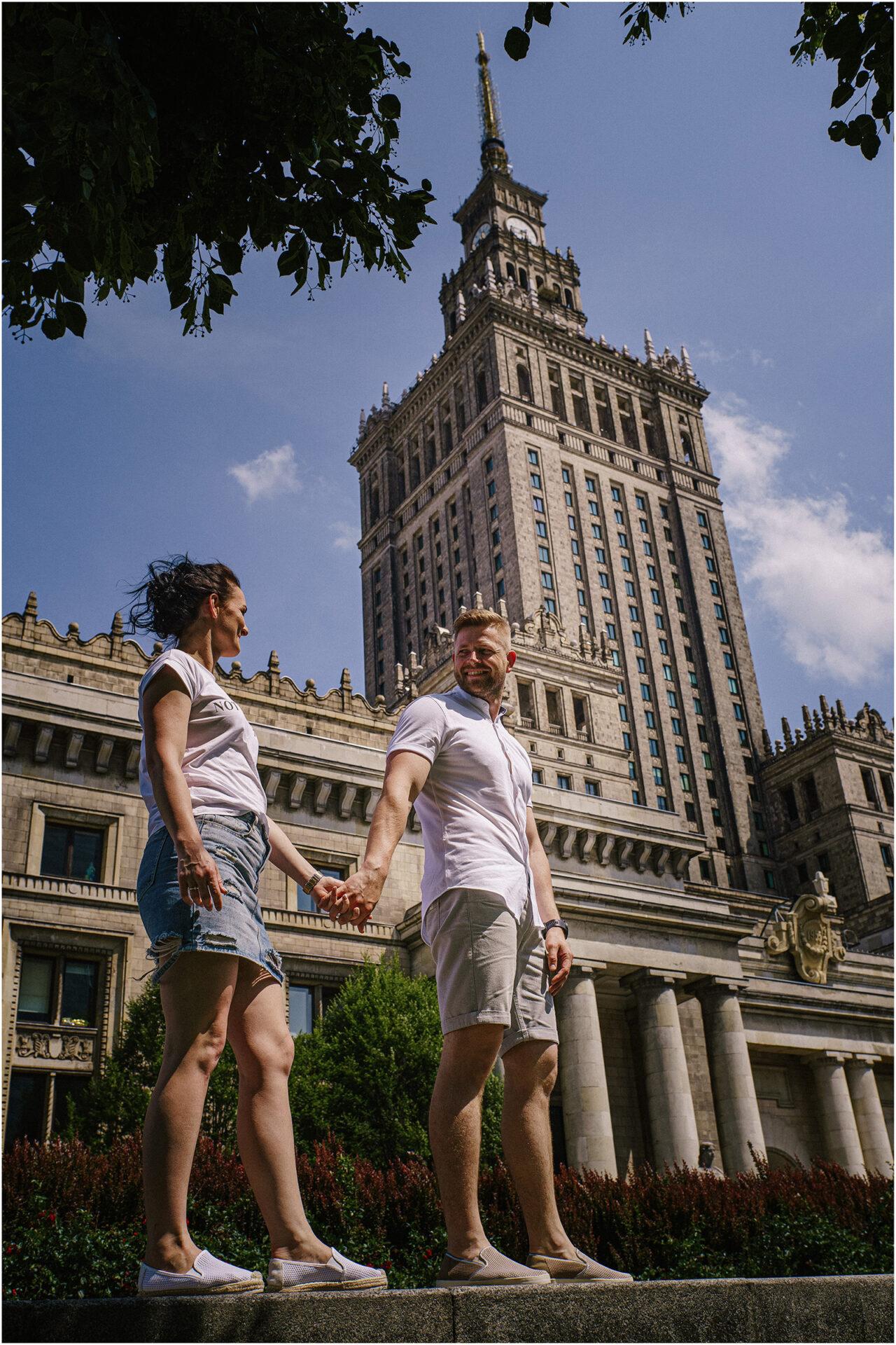 Justyna & Kamil |sesja miejska w Warszawie 5