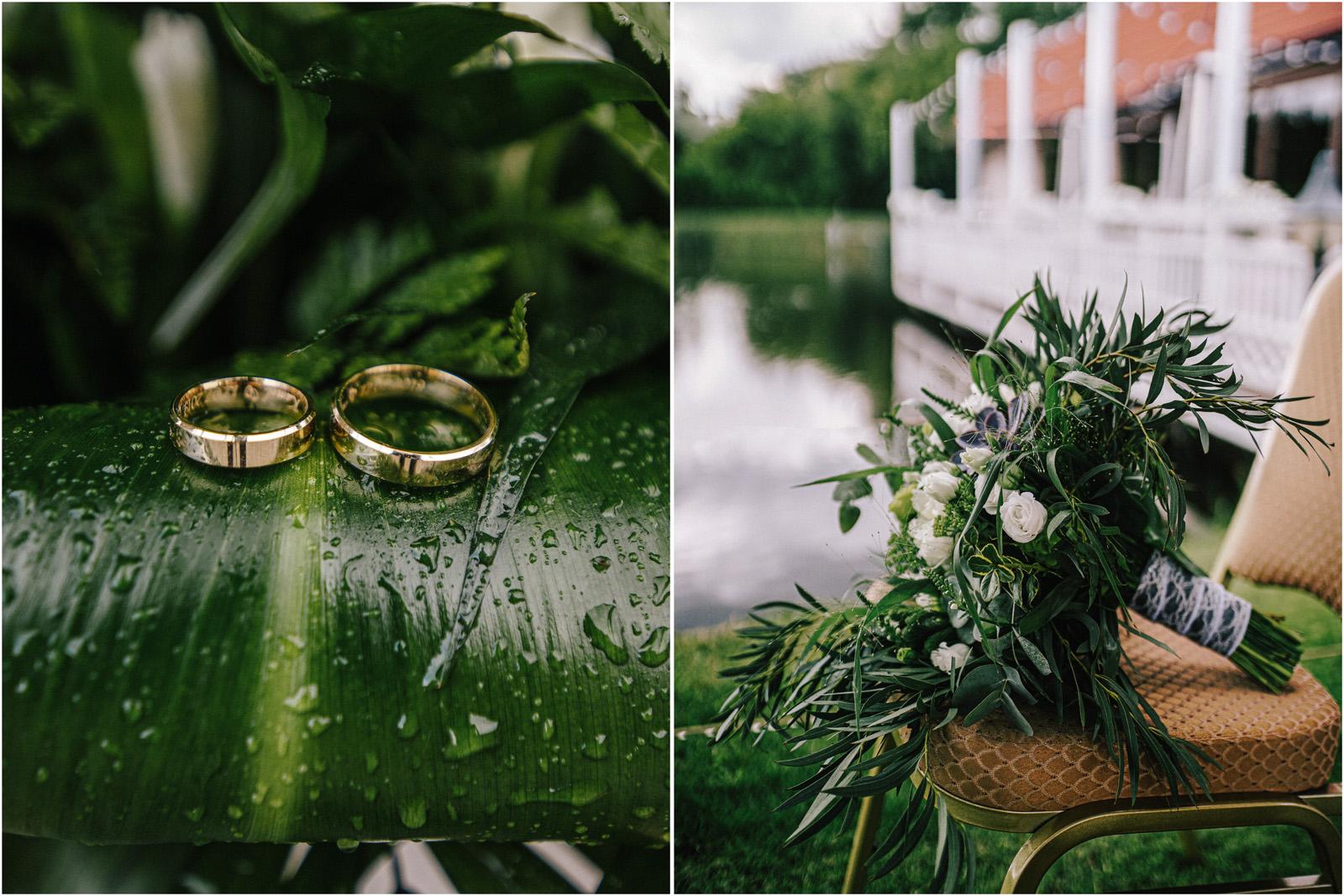 Justyna & Kamil | plenerowy ślub w Bobrowym Dworze 4