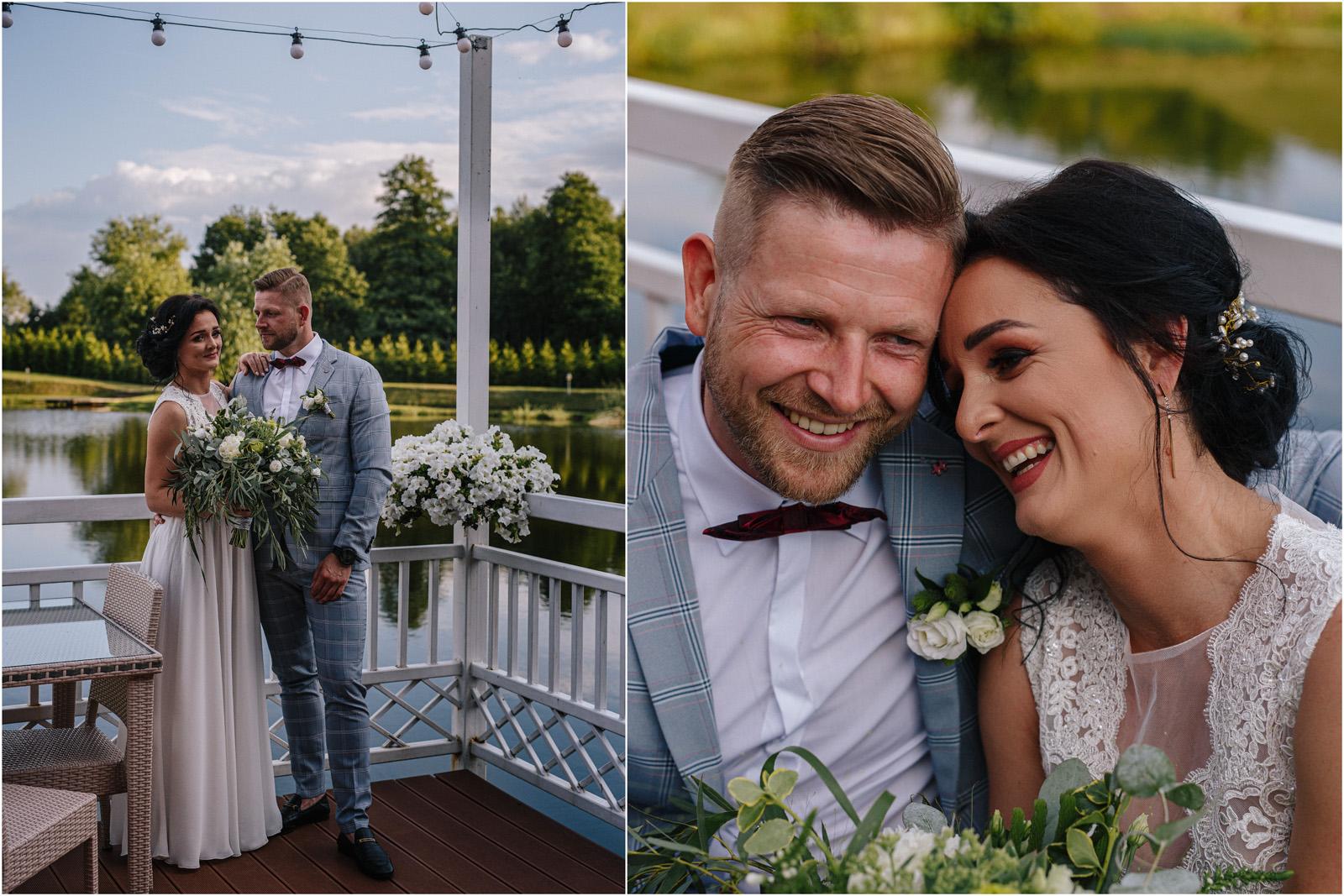 Justyna & Kamil | plenerowy ślub w Bobrowym Dworze 36