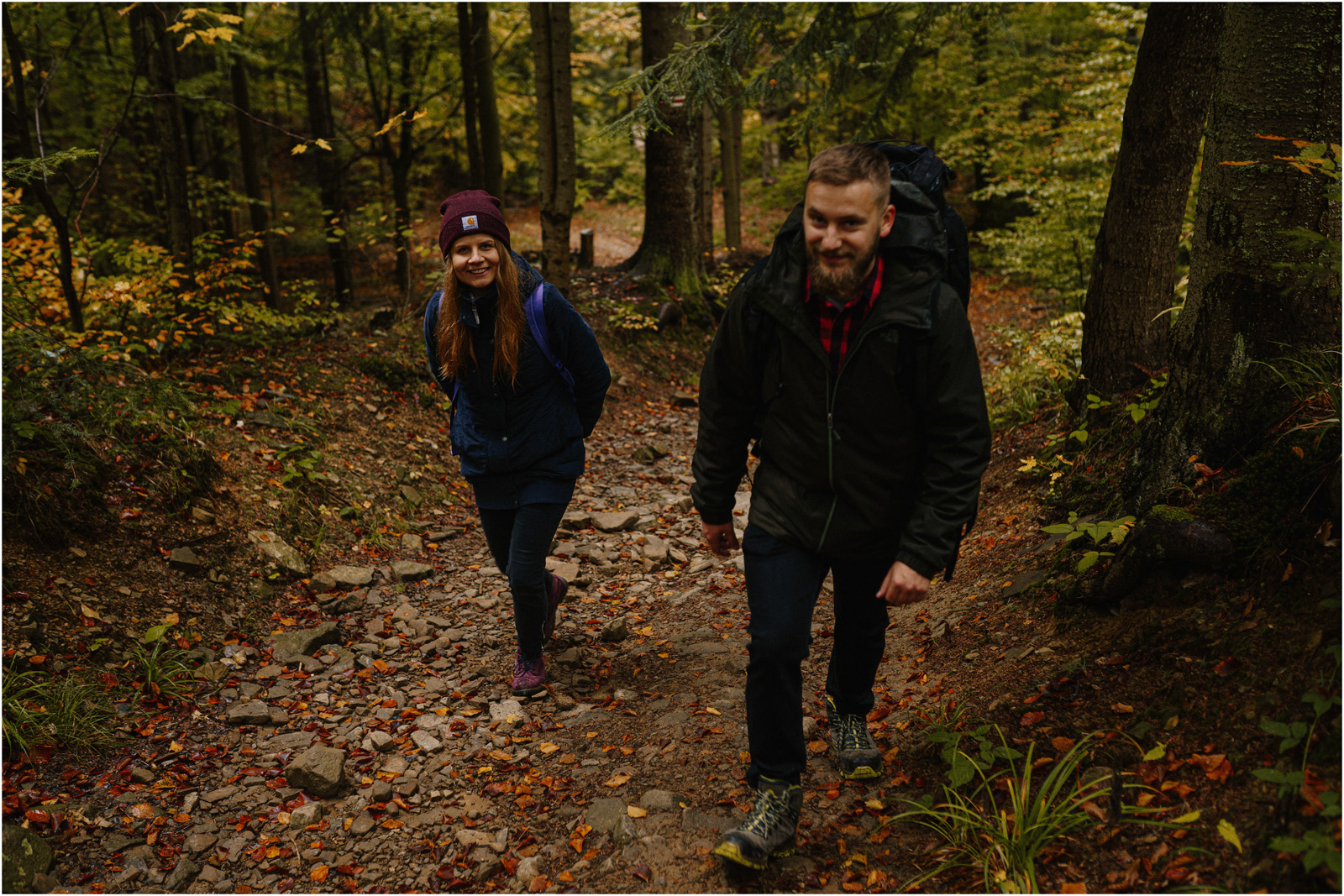 Ania & Szczepan | leśna sesja w Bieszczadach 2